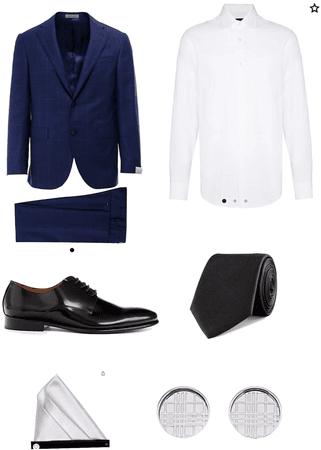 hombre elegante formal