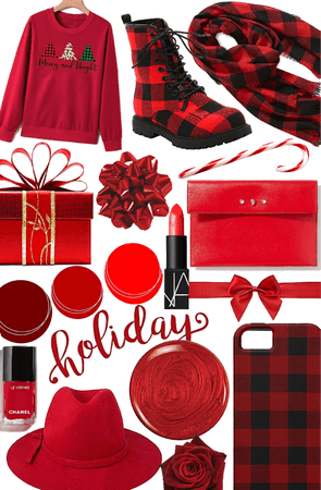 red Christmas!!