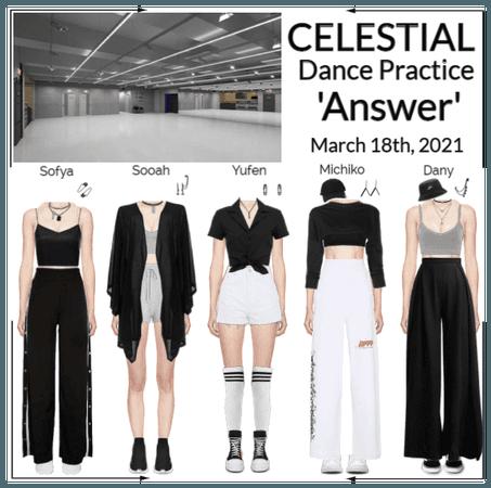 세레스티알 (Celestial)   'Answer' Dance Practice