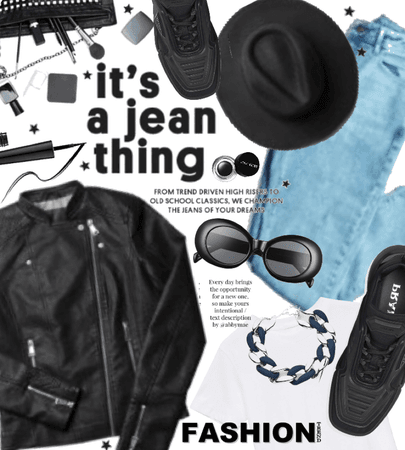 it's a Jean thing.