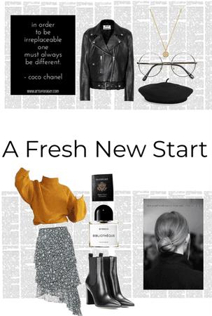 A fresh new start