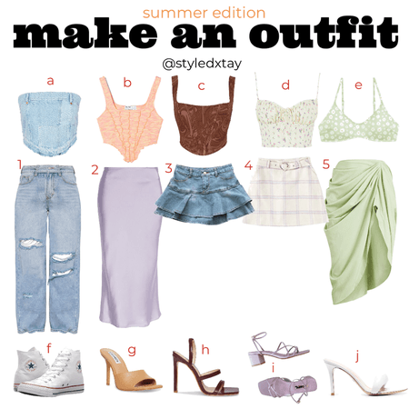 MAKE YOUR OWN OUTFIT: Summer Edition 🌞