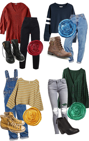 Hogwarts Sweater Outfits