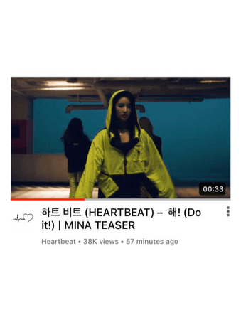 [HEARTBEAT] MINA ' DO IT!' SOLO M/V