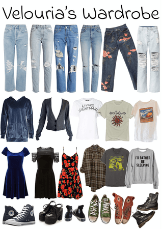 Velouria's Wardrobe
