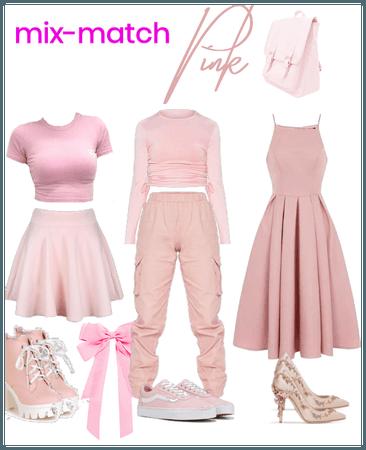 Mix-match pink