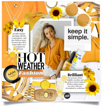 Get The Look: Easy Hot Weather Style (7.9.2021)