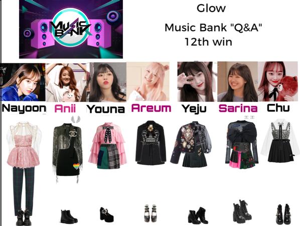"Glow Music Bank ""Q&A"" 12th win"