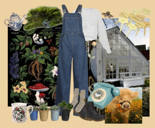 farmcore (emphasis on plants)