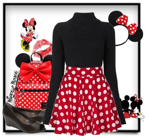 """Disney Inspired (Mickey's Birthday)""-Minnie Mouse"