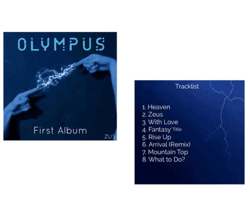 ZUS//Olympus First Full Album