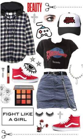 Grunge & Gamer outfit Inspo