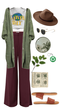 earth toned outfit