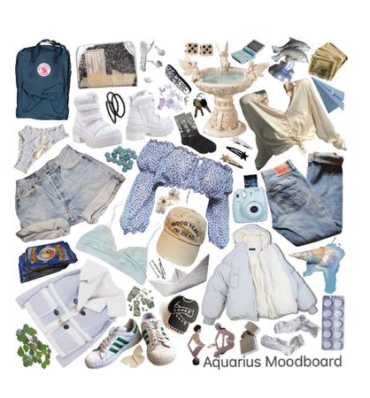 Aquarius Moodboard