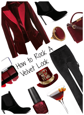 How to Rock A Velvet Look!