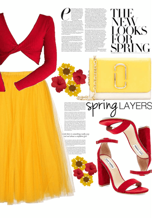 Red-Yellow Spring