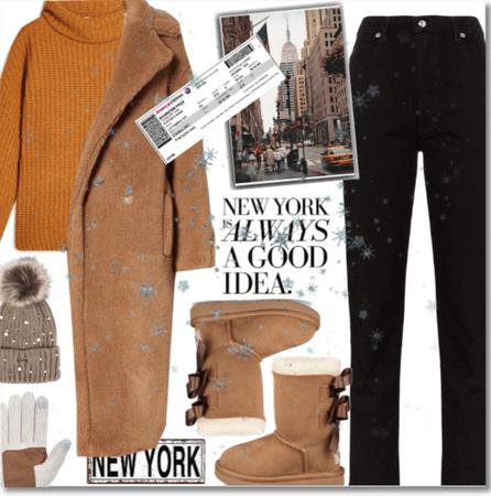 New York is always a good idea!