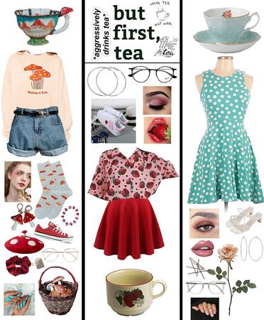Tea Cup Cosplay!