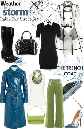 Trench Style Rain Coats