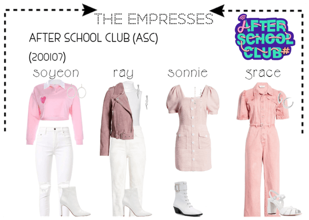 [THE EMPRESSES] ON AFTER SCHOOL CLUB