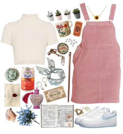 Lavender Brown- Outfits Inspired By Characters