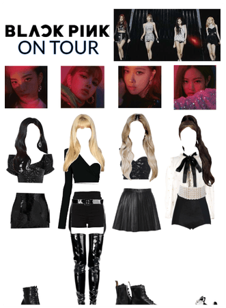 Blackpink concert stage outfit