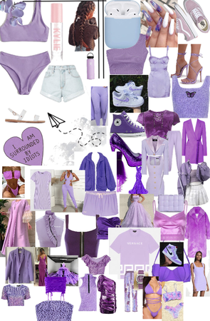 positive purple