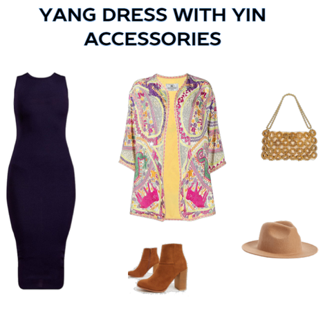 Yang Dress with Yin Accessories