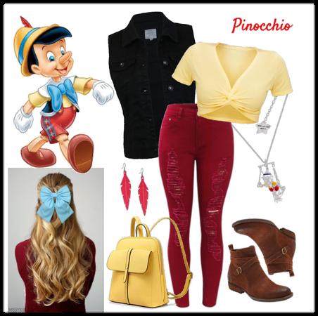 Pinocchio outfit - Disneybounding - Disney