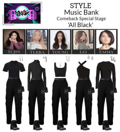 STYLE Music Bank 'All Black' Special Stage