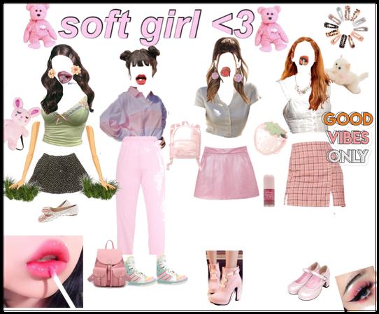 Soft Girl💖🧡💛💙💚💜