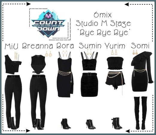 《6mix》MCountdown Studio M Stage