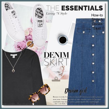 The Essentials: The Denim Skirt