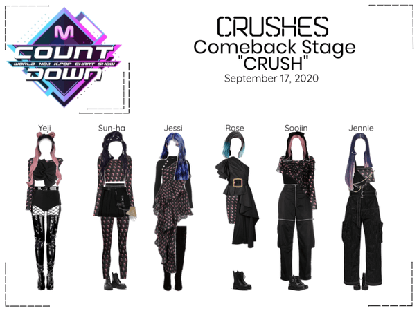 "Crushes (호감) ""CRUSH"" Comeback Stage"