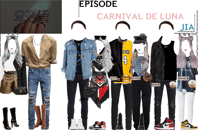 FAIRYTALE EPISODE 2: CARNIVAL DE LUNA | JIA & ERIC (micheal b Jordan) SCENES