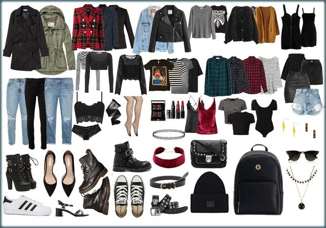 everything in my wardrobe