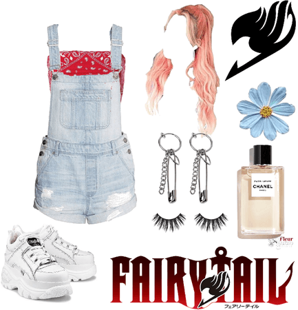 What I'd wear in an anime: Fairy Tail