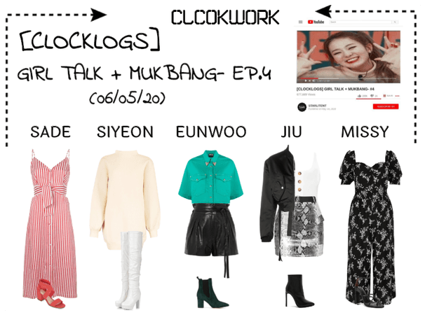 *CWK* | CLOCKLOGS EP.4 | GIRL TALK + MUKBANG