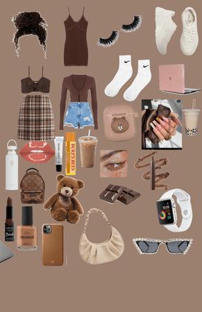 brown summer