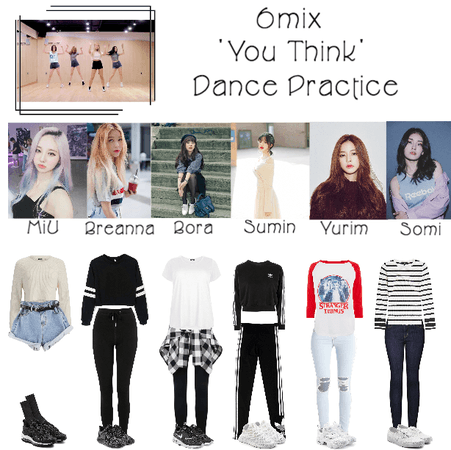 《6mix》'You Think' Dance Practice