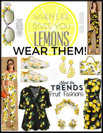 when life gives u lemons-wear them!