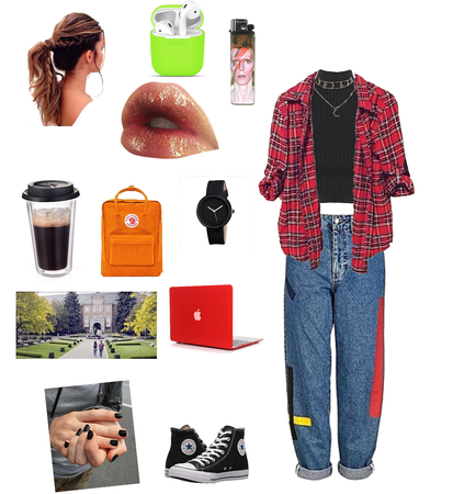 college outfit