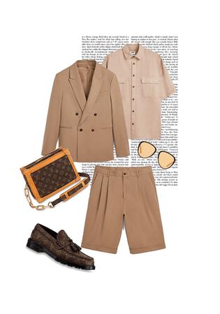 the zara short suit