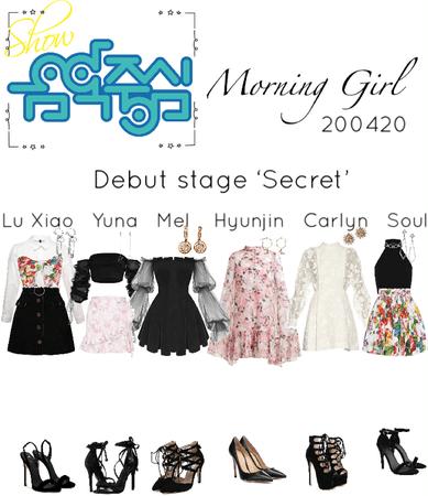 Music Core debut stage 'Secret'