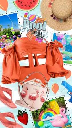 Designer Pool Party! Wear it if you've got it! Prada, Moda Operandi, Kate Spade