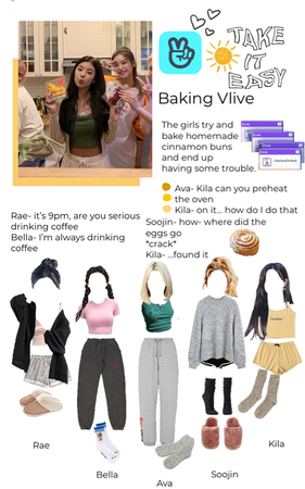 Baking Vlive | XOC fake girl group