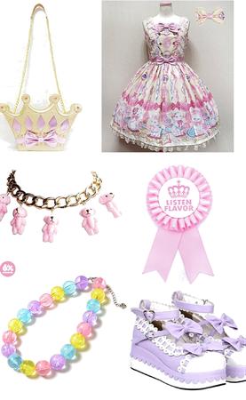 Pastel Princess Lolita Coord