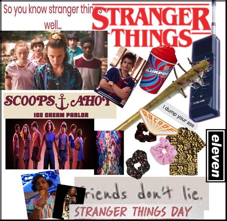 Stranger things vibe