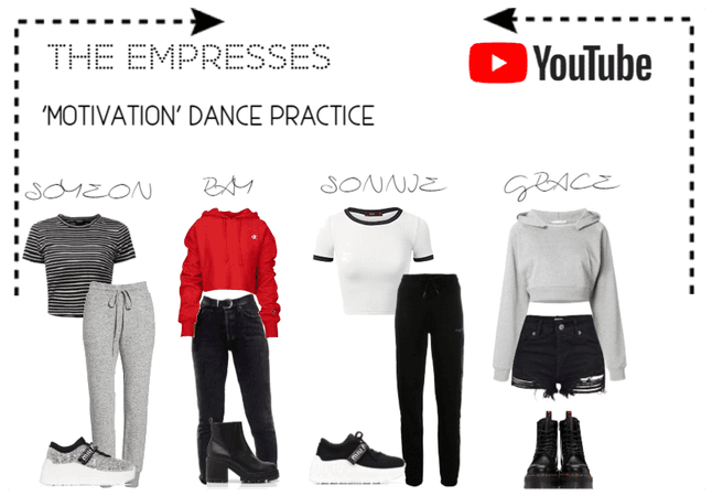 [THE EMPRESSES] 'MOTIVATION' DANCE PRACTICE