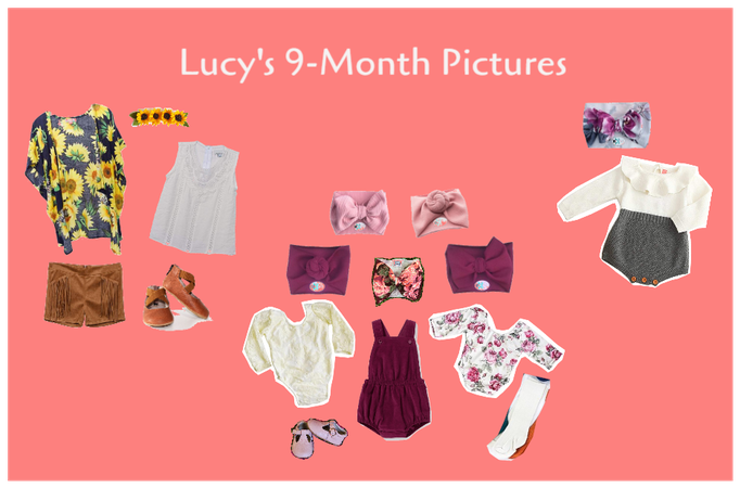 Lucy's 9 Month Pictures